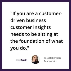 customer insights at the foundation