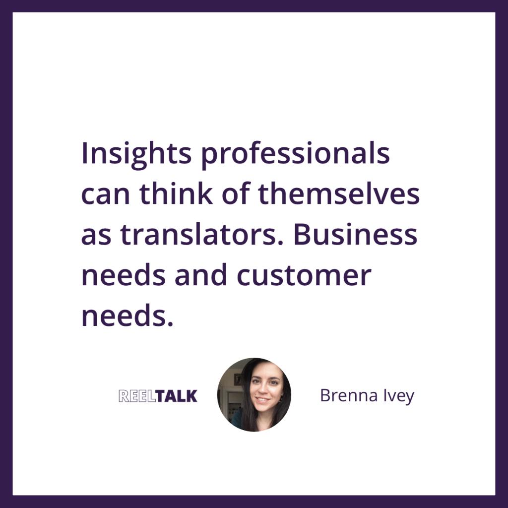 Insights professionals as translators
