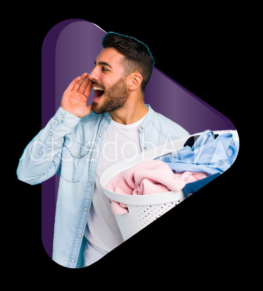 Man Laundry