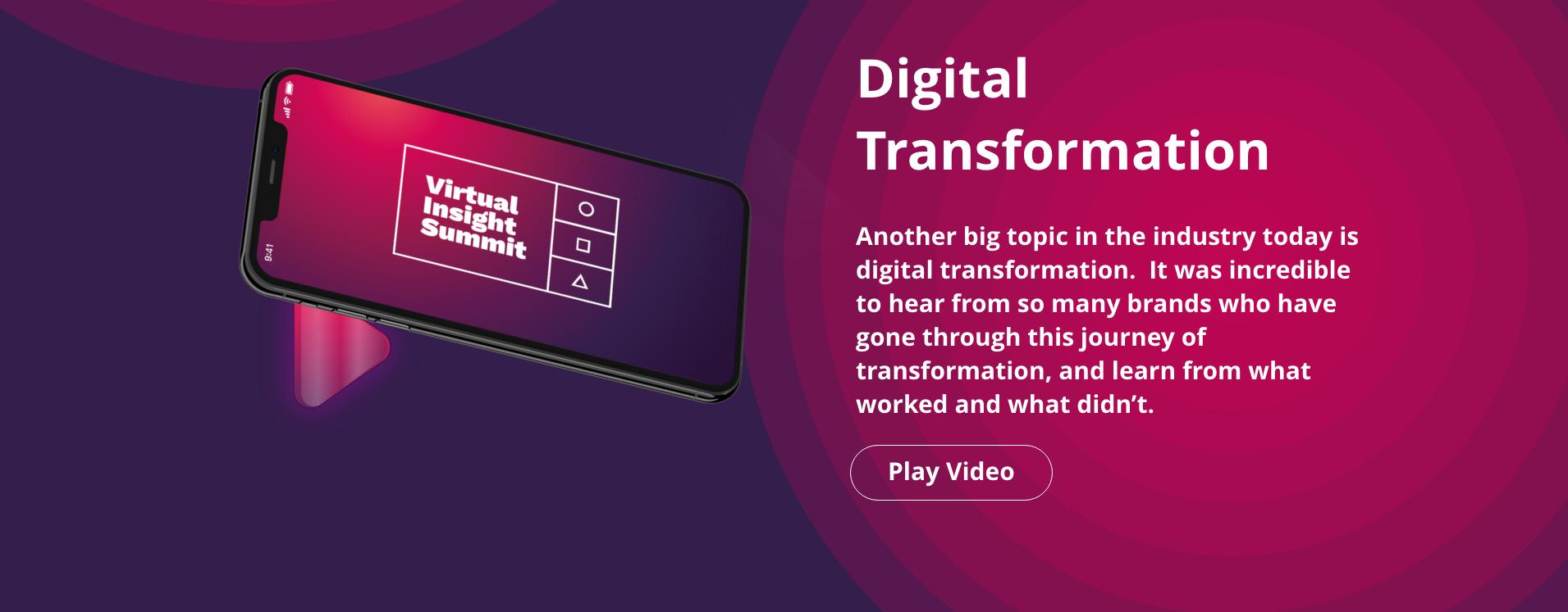 Theme 3 Digital Transformation
