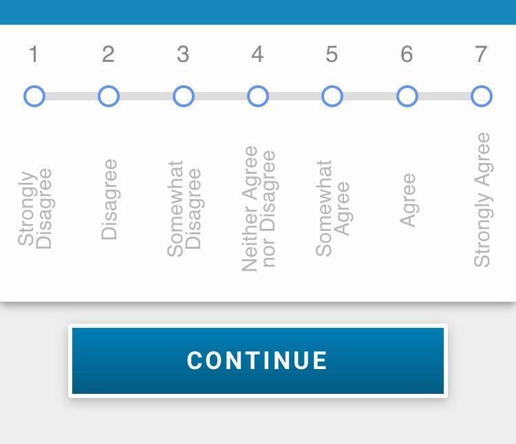 customer health - sideways survey