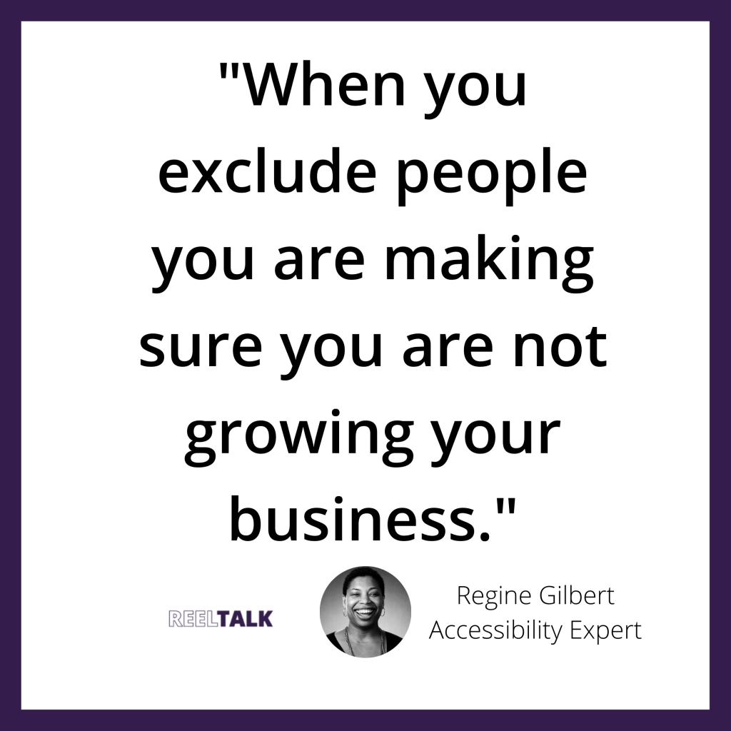When you exclude people you are making sure you are not growing your business.